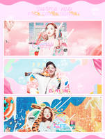 [PSD] SUNDAY | TWICE COVERS | BY XIAOXUE by Xiao-Xue