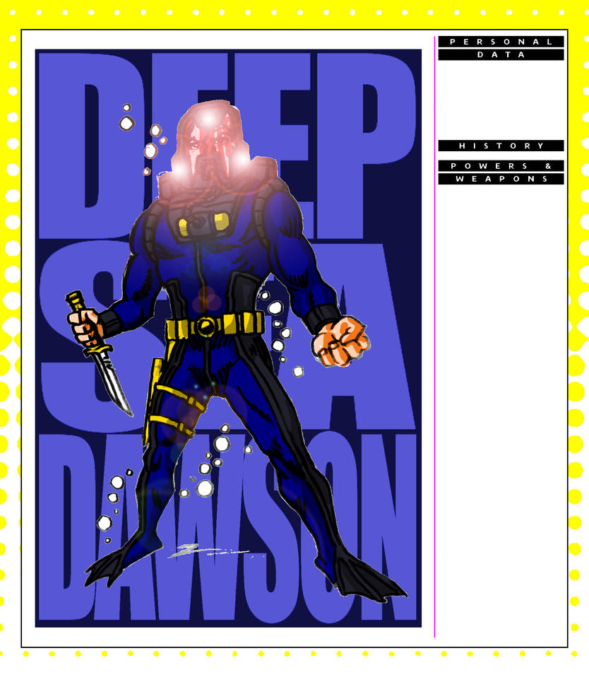 Deep Sea Dawson by Operator-V