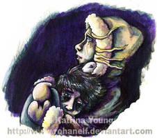 Lyra and Tony by RohanElf