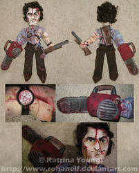 EVIL DEAD-Ash Plushie UPDATED by RohanElf