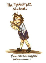 The Typical Yr 12 Student 2 by RohanElf