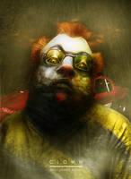 Clown by AjonesA