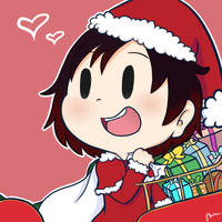 Christmas Doodles: Ruby by Y-Honda