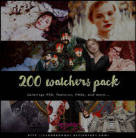 Megapack 200 Watchers by sandranoqui