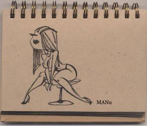 newbrush sketch by MANu1