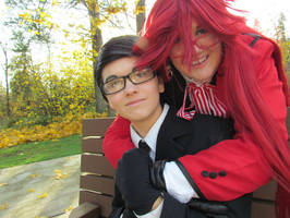 Grelle and Will by Sadict