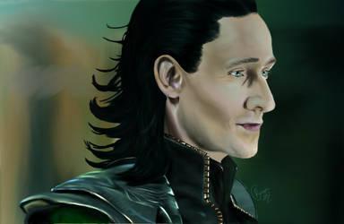 Loki--God of Mischief by Sadict