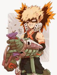 Lost his temper - Bakugou BNHA by Chrotaku
