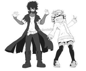 Criminal couples - Dabi and Toga BNHA by Chrotaku