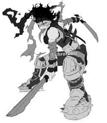 Hero killer - Chizome Akaguro BNHA by Chrotaku