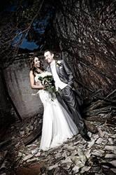Greg + Nikki in Urban Ruins by exoart