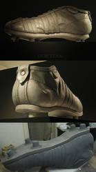 Helmut Rahns  Soccer Shoe (1954) by blackpanda
