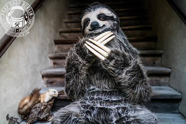 realistic sloth costume by blackpanda