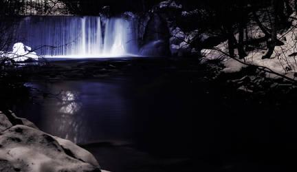 Waterfall by Rogerdatter