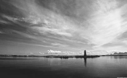 Forgotten lighthouse by Rogerdatter