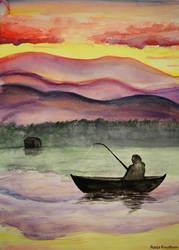 Fisherwoman by Rogerdatter