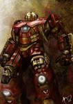 Hulkbuster Armor by Rheza Maulana by rhezM