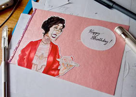 Birthday Card by Li33i