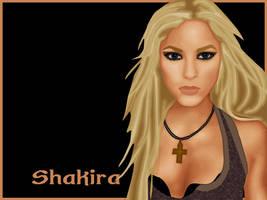 Shakira-vector by ID-entity