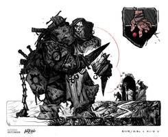 Day 8: CROOKED hands by Konstantin-Vavilov