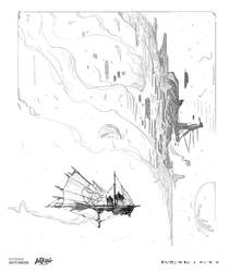 Day 25: Sky ships by Konstantin-Vavilov