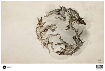 Book of Adria: A Diablo Bestiary | Hellion by Konstantin-Vavilov