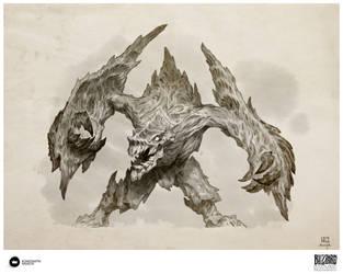 Book of Adria: A Diablo Bestiary   Armored Destroy by Konstantin-Vavilov