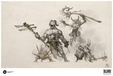 Book of Adria: A Diablo Bestiary | Fallen by Konstantin-Vavilov