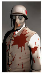 My medic loadout, valve portrait, my style by DrexelTheDeviant
