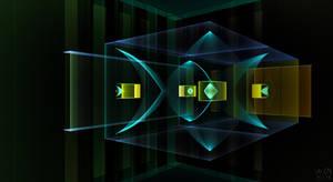 Cube in the Air by Aqualoop31