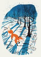 Winter Fox by Kanizo