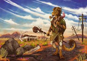 Wasteland Wanderer - Commission by Kanizo