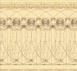 Vitruvian  man by sulimanda