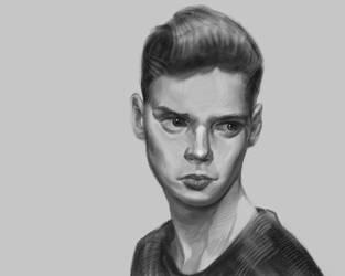 Portrait by grenader1