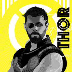 Thor vector Gravure by grenader1