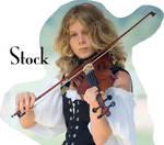 violin girl by Obsidian-Fox-Stock
