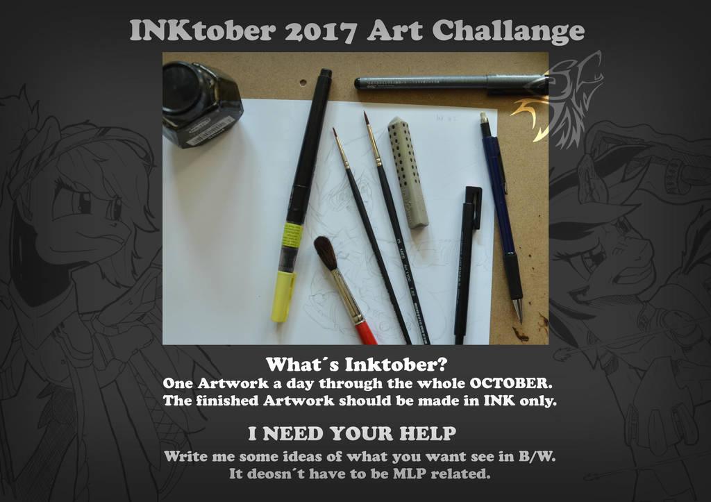 Inktober by DSC-the-Artist
