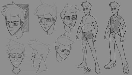 DSC Character Design by DSC-the-Artist