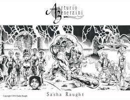 Aurturio Benerzini (Detail) Poster by SashaRaught