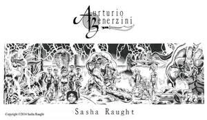 Aurturio Benerzini Poster by SashaRaught