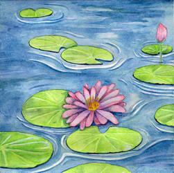 Lotus Flower (1807) by RhyssaFireheart