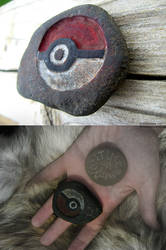 Sold! - Pokeball Fossil by CatSilver