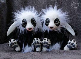 Panda Twins by LisaToms