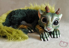 chibi forest spirit by LisaToms