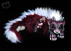 Commissioned chibi dragon spirit by LisaToms