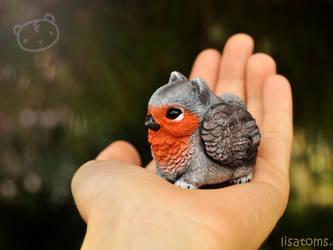 Robin pygmy griffin by LisaToms