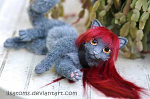 Neomi- art doll commission by LisaToms