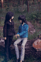 Dreamtime lovers by emyolwen