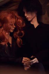 Kori and Sertene by emyolwen