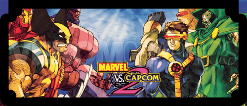 Arcade Control Panel - Marvel vs Capcom 2 by VenomGraphics
